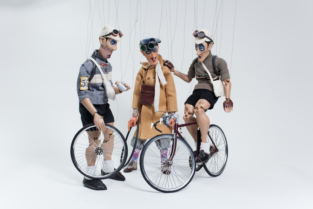 Highly Strung: retro marionettes and mod Wiggins