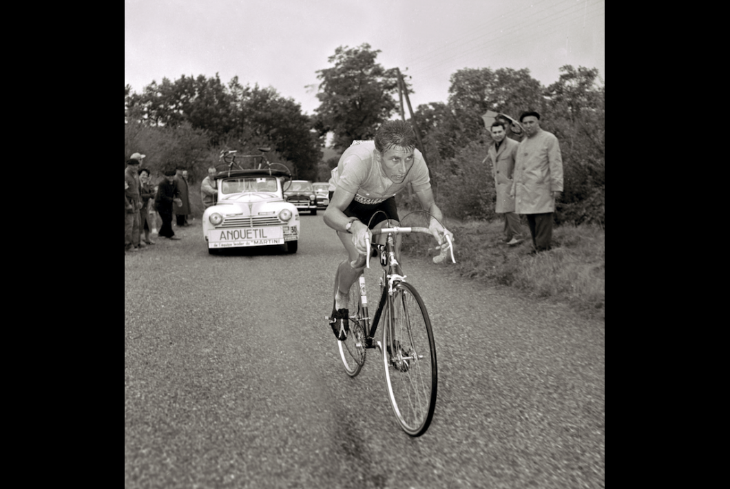 Anquetil, On His Own
