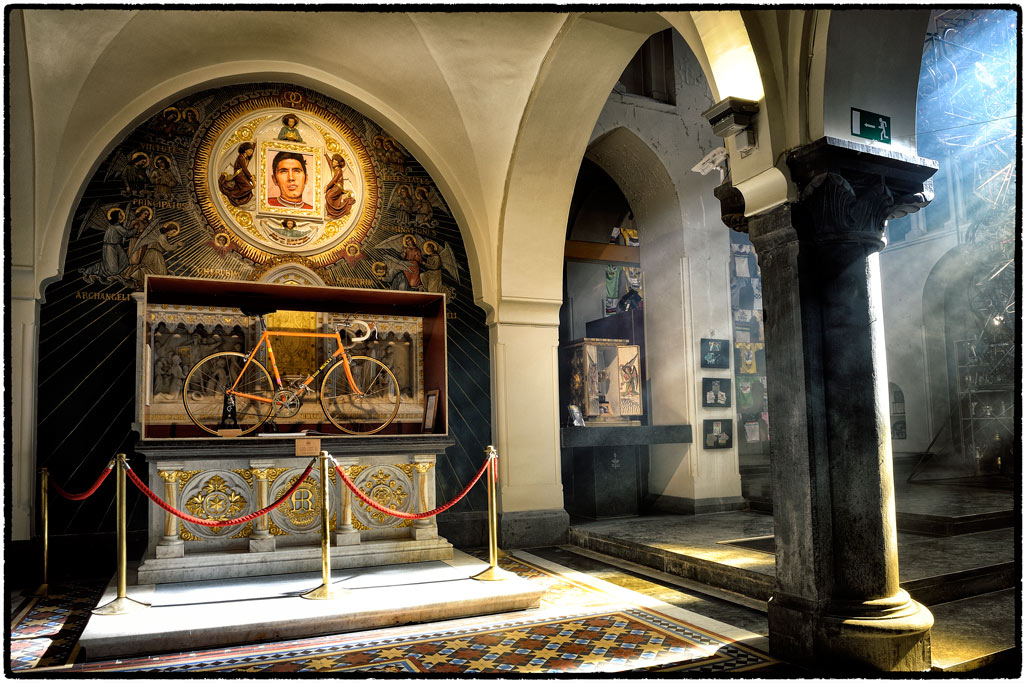 """The altar to Eddy Merckx: a visit to the """"church of cycling"""""""