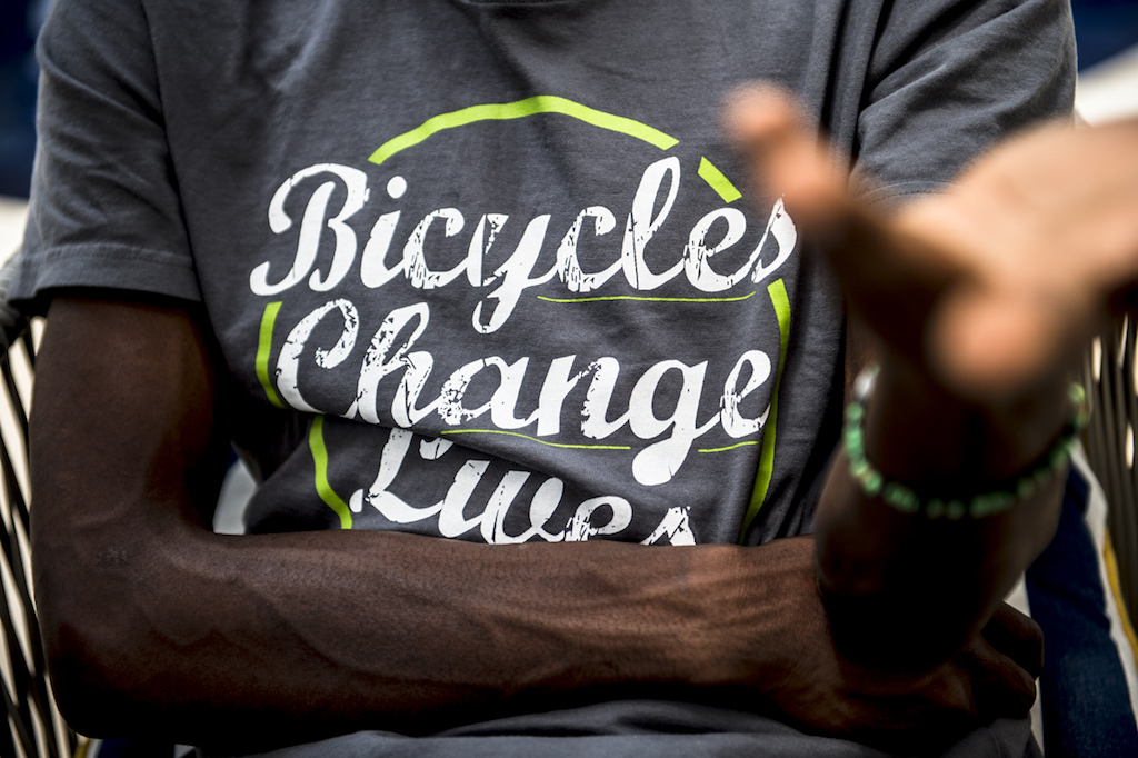 Team Dimension Data: Bicycles Change Lives