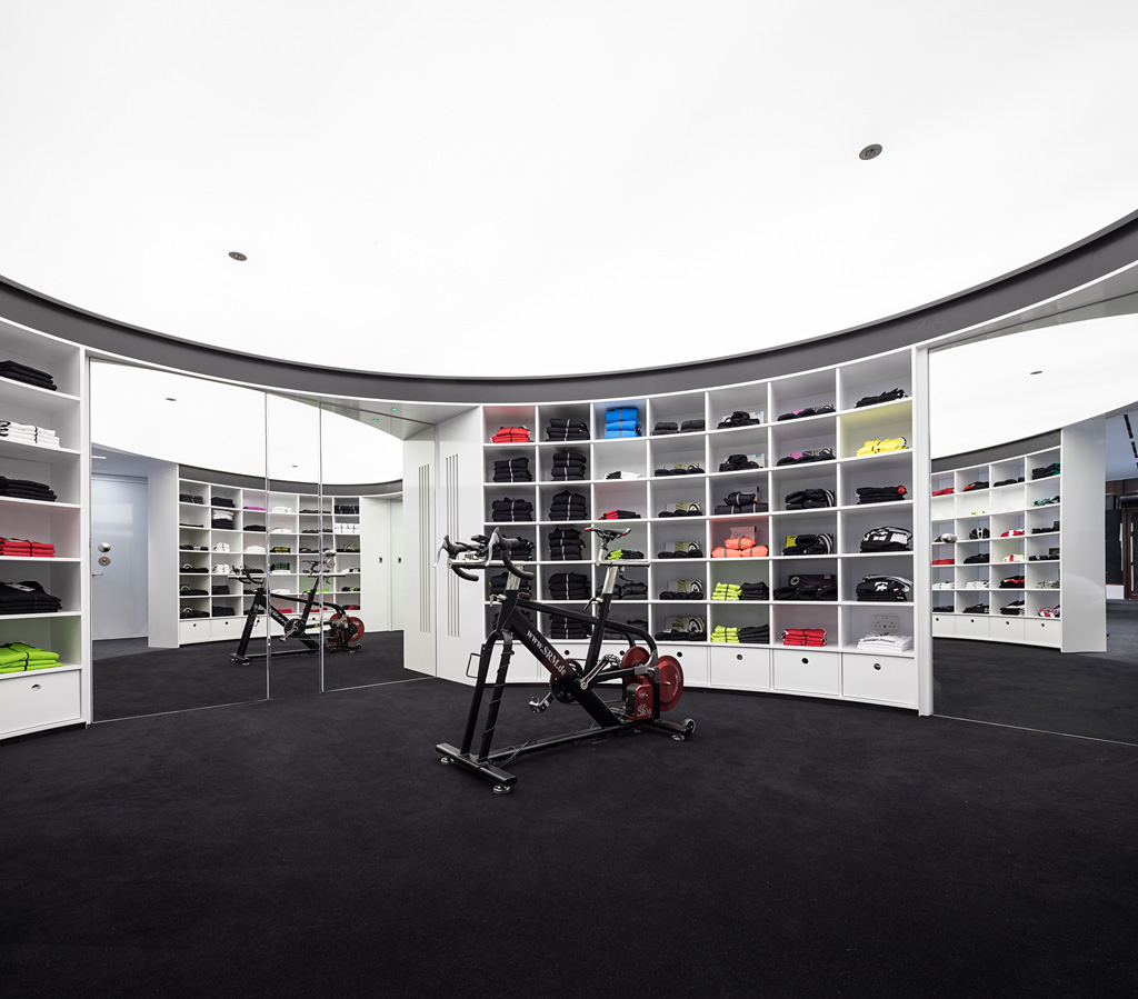 Marinating in Assos: designing the Assos Boutique in London
