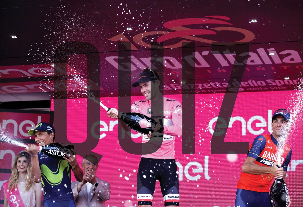 The Giro 100 Quiz