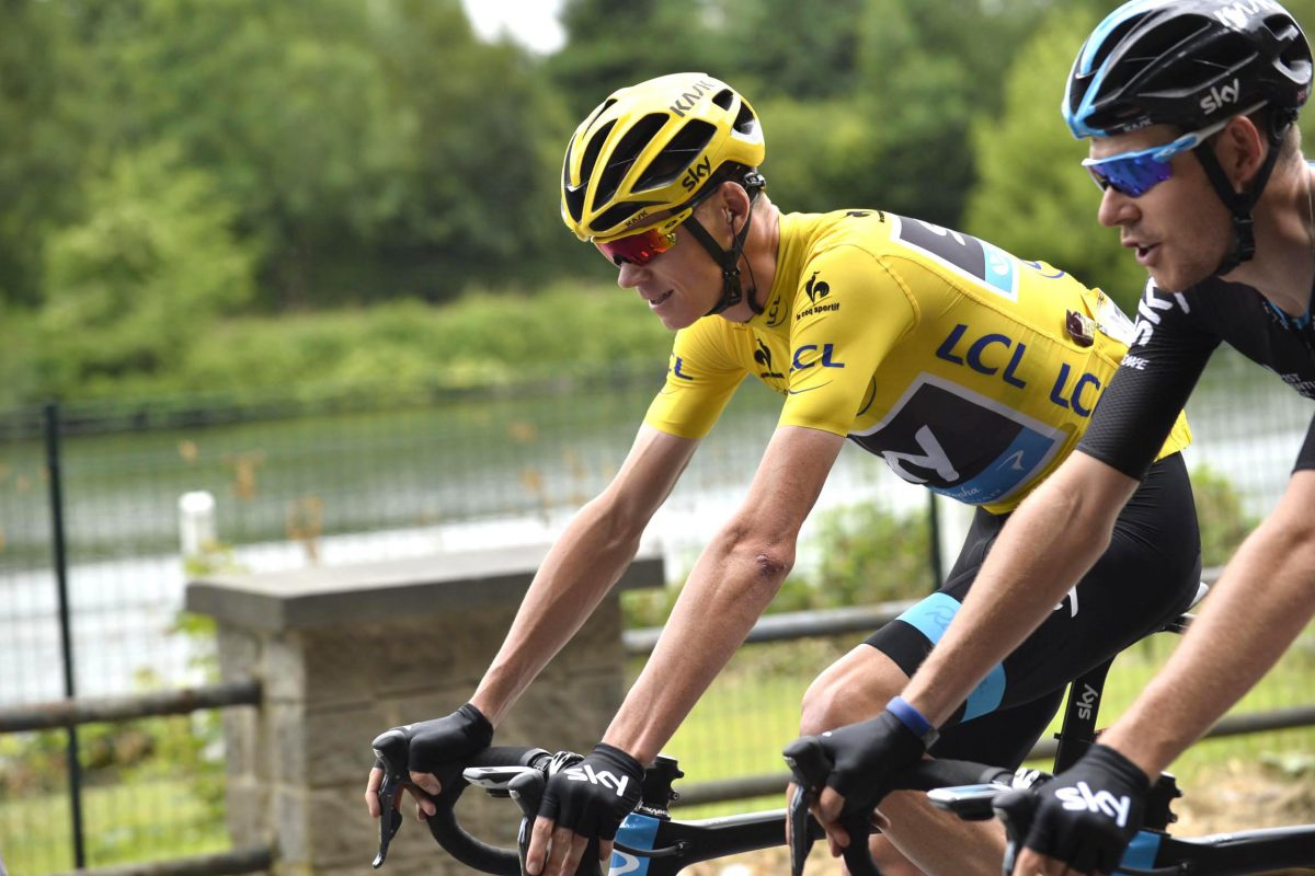 Luke Rowe, Chris Froome's Mr Reliable for the Tour de France's flat and windy stages