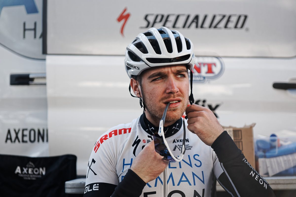 Chris Lawless, Team Sky's latest homegrown recruit