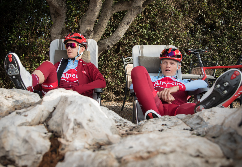 Coming together: new class meets old at Katusha-Alpecin