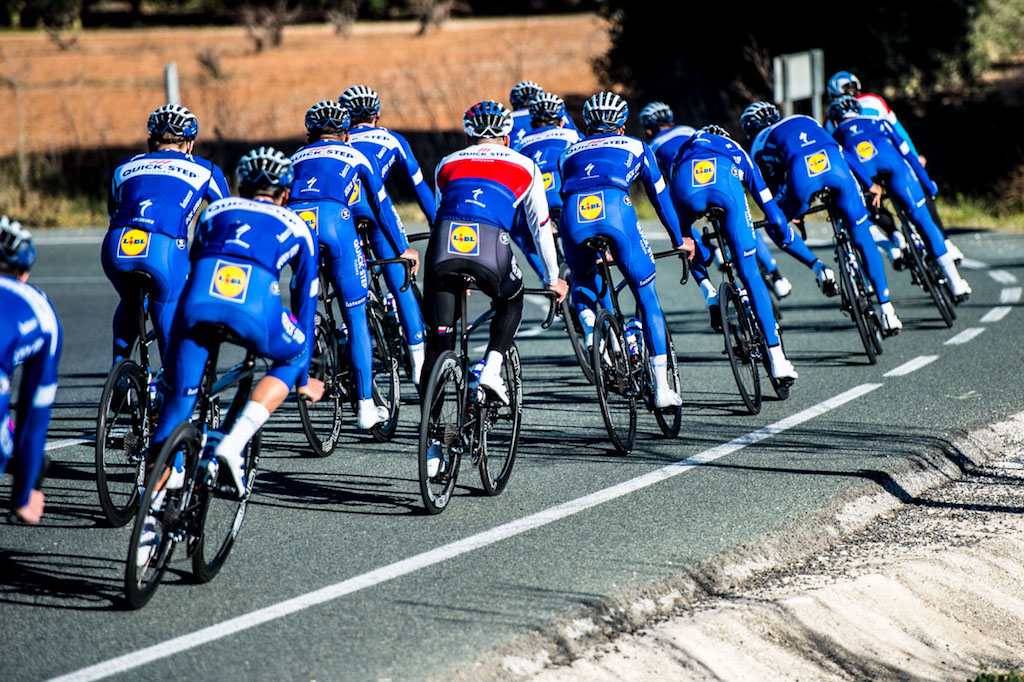 Gallery: Quick Step training camp on the Costa Blanca