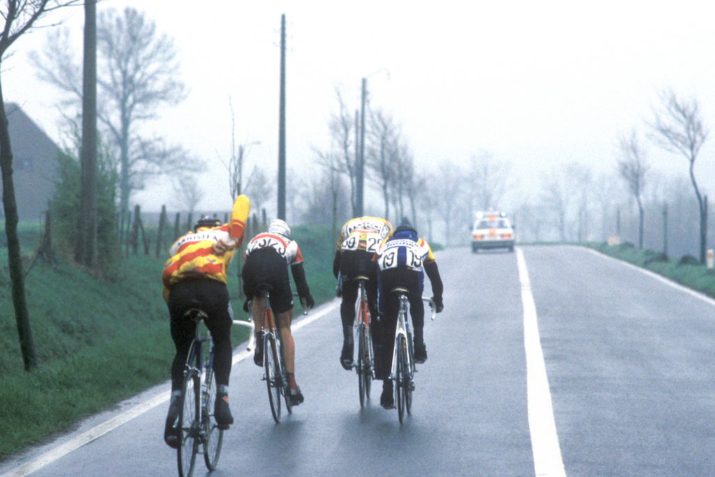 Gent-Wevelgem 1989: Sean Yates and Gerrit Solleveld's race-long break