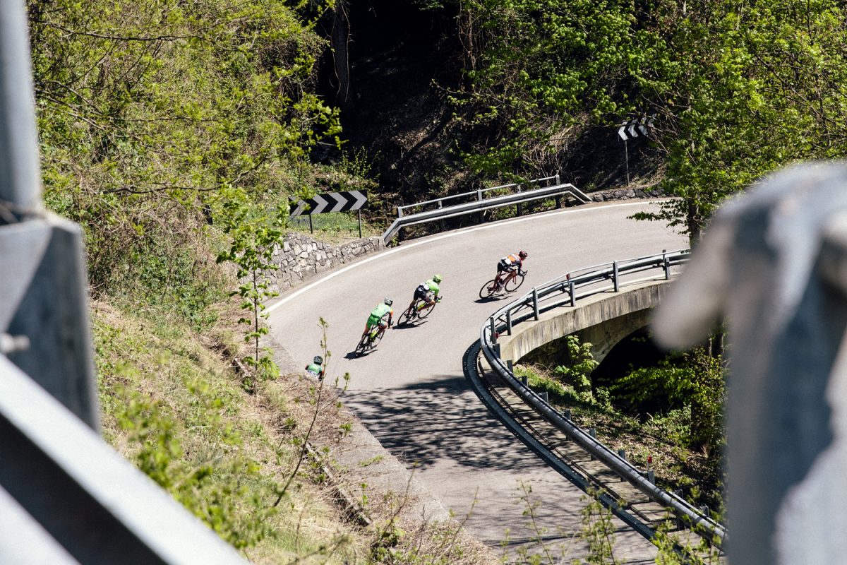 Racing in the Alps like you've never seen it before