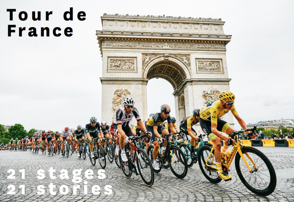 What's in the next issue? Tour de France special edition for 18.4
