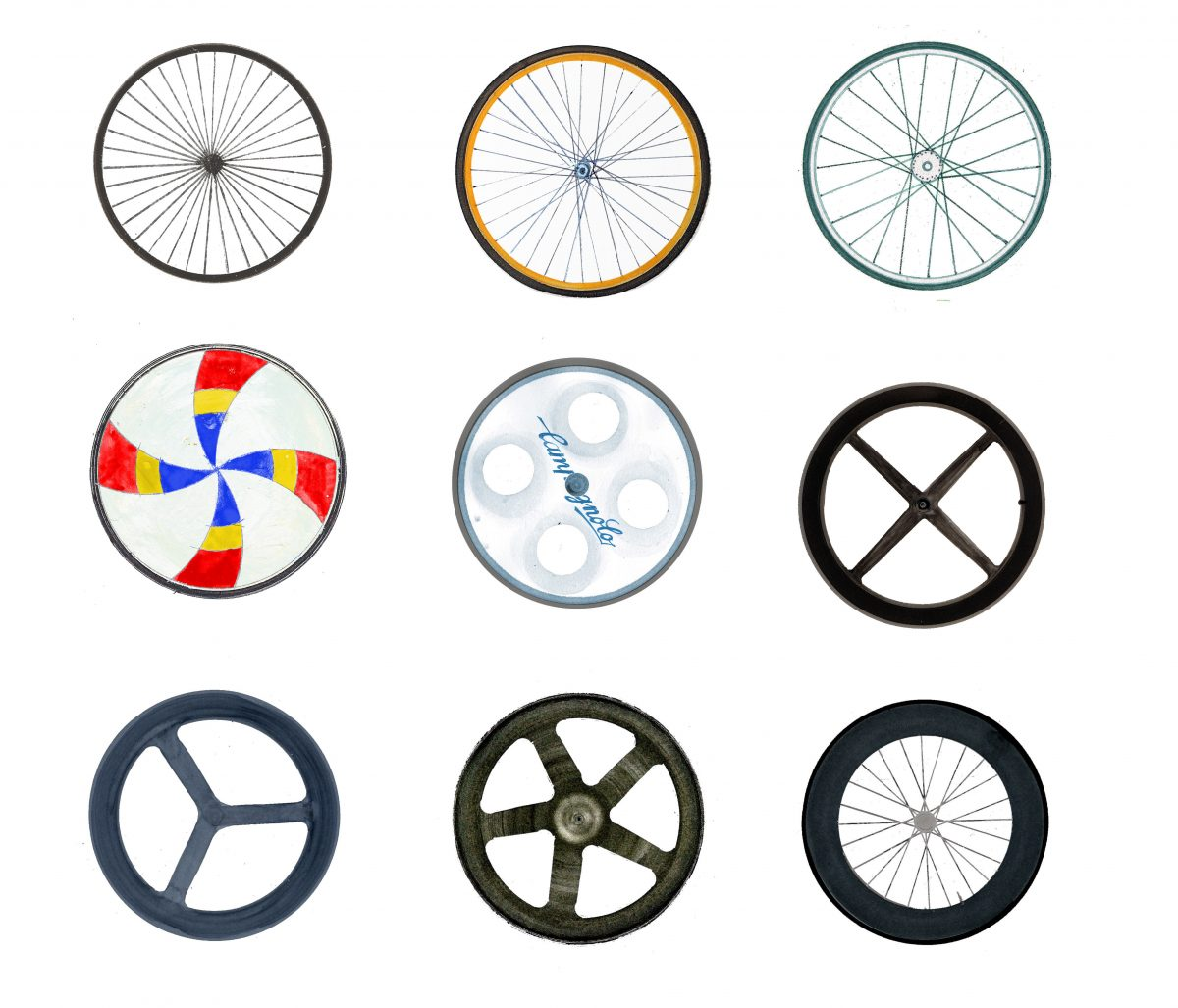 An illustrated history of aero wheels