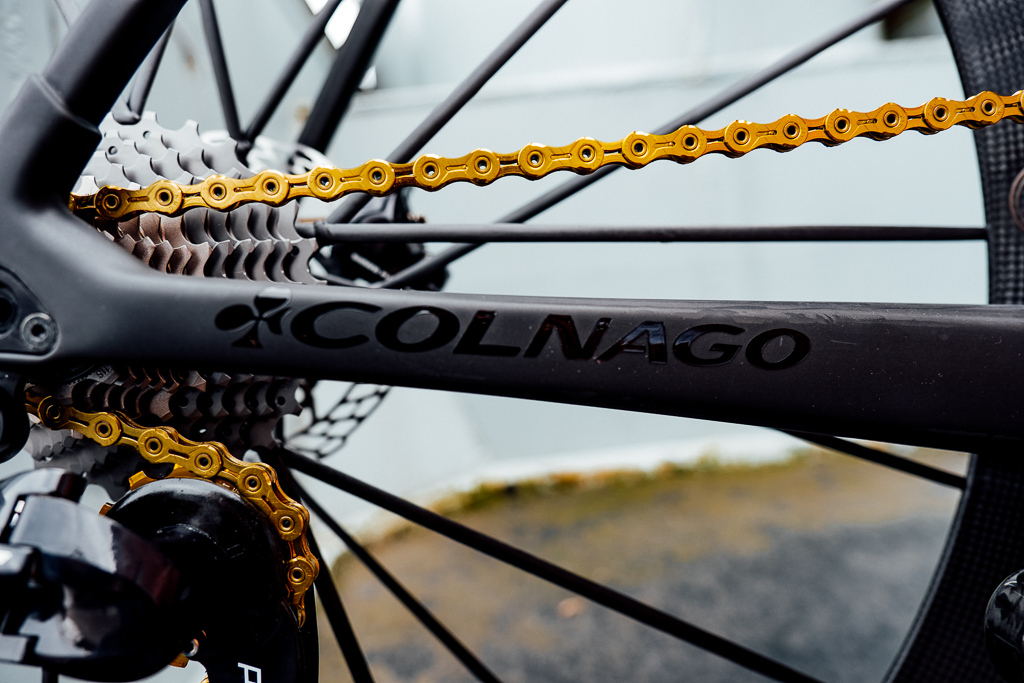 Desire: Colnago 64 Gold Private Collection