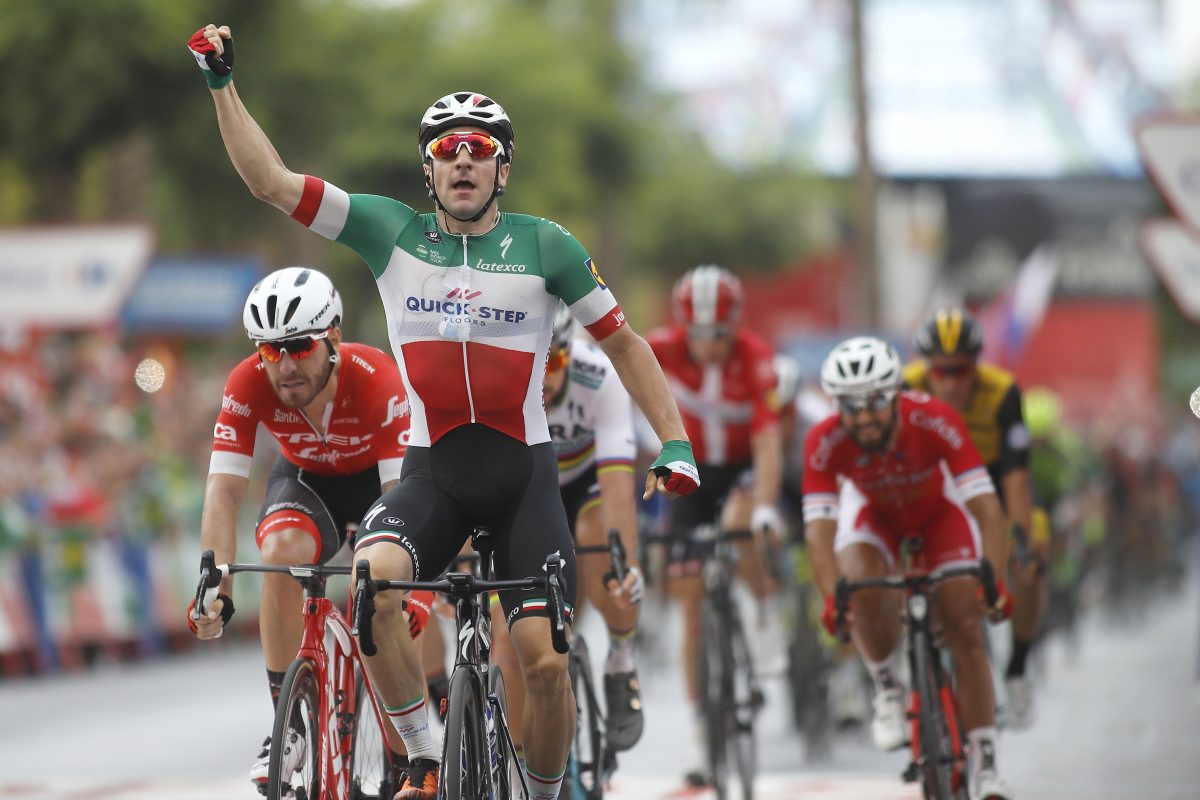 On the right track: Elia Viviani and his move from Sky to Quick Step