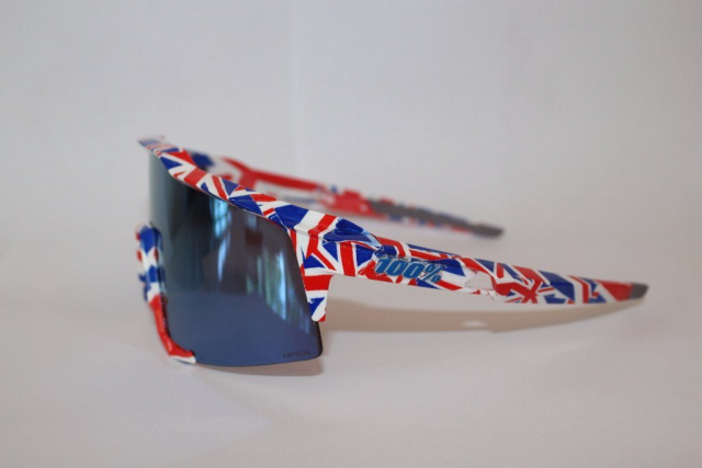 Connor Swift, HydroVision, custom 100% sunglasses