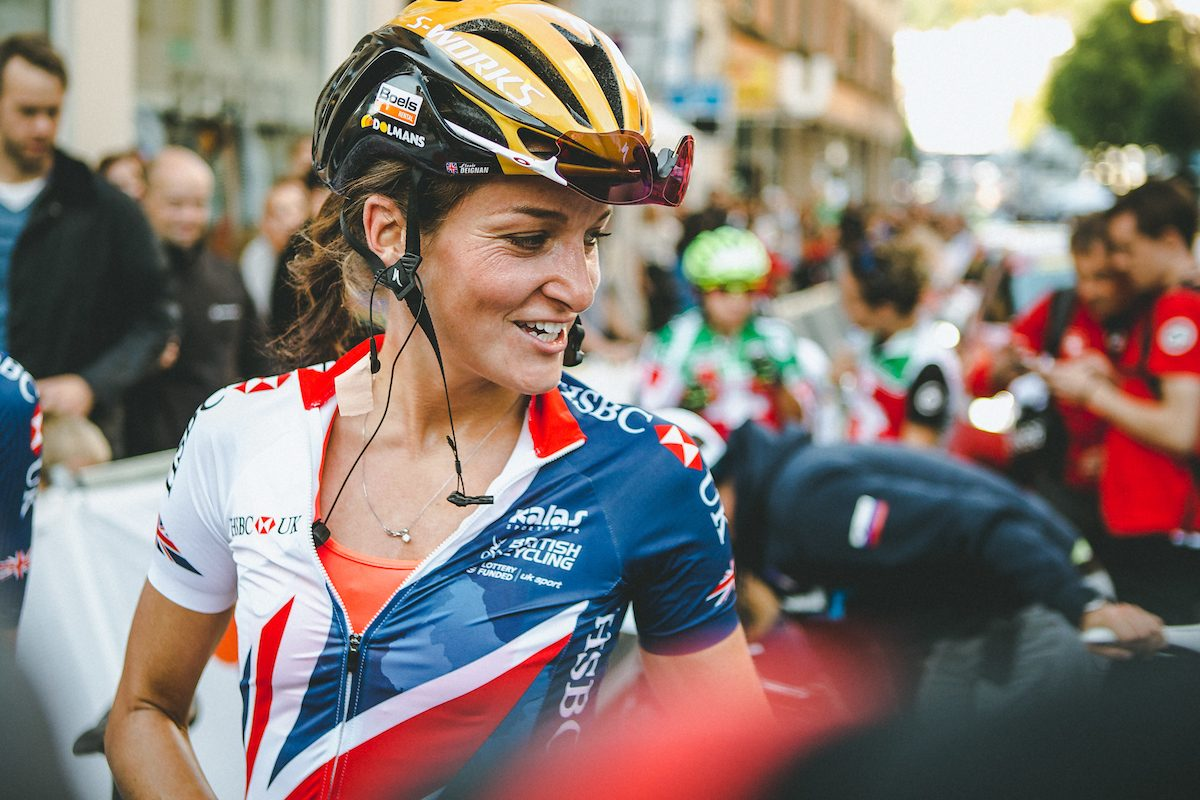 Lizzie Deignan: I was cycling until three days before my daughter's birth