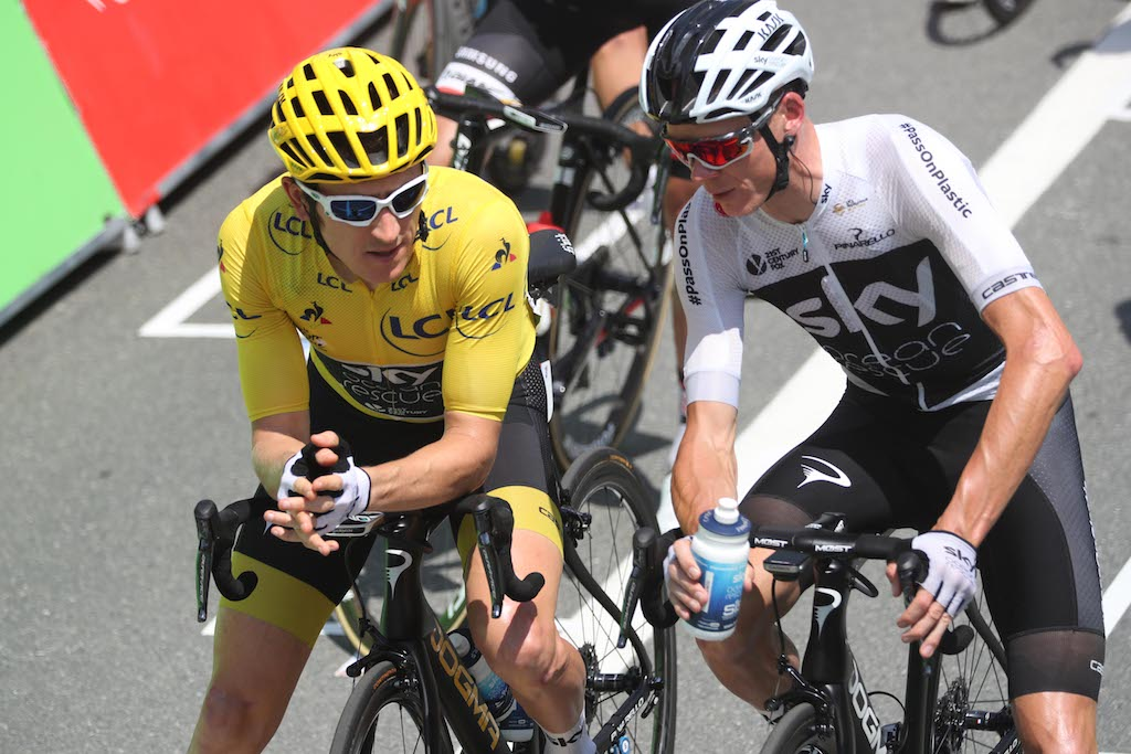Geraint Thomas: did Froome want to attack me? (book extract)