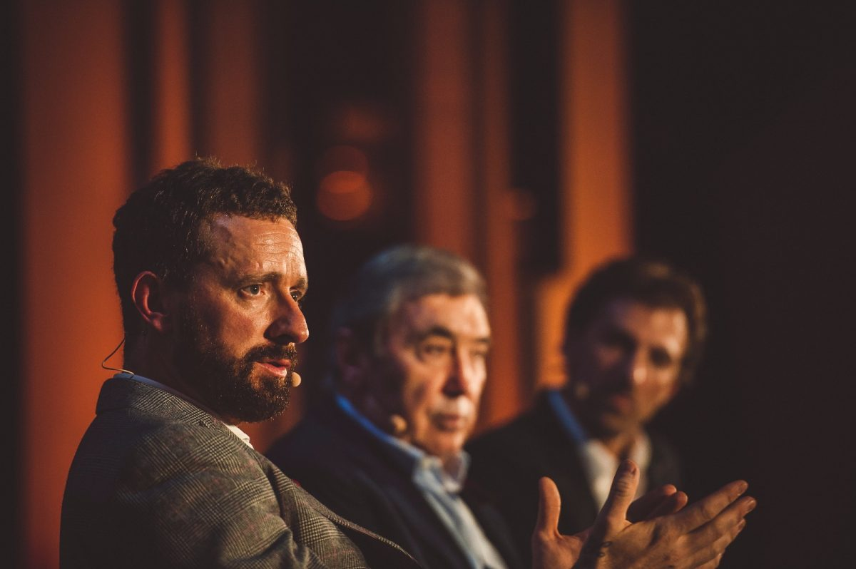 When Bradley Wiggins met Eddy Merckx