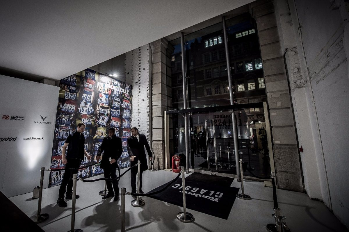 Doors open at the Rouleur Classic