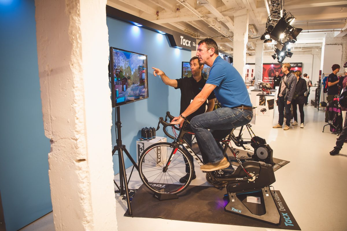 Turbo time: Tacx Neo 2 smart trainer breaks cover at Rouleur Classic