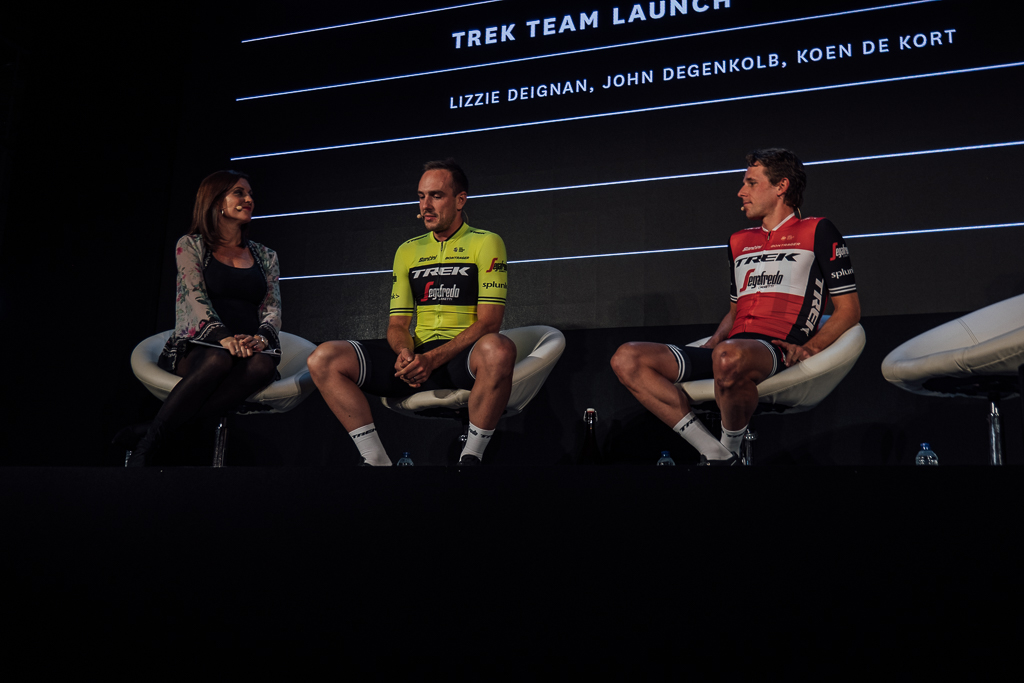 Red and blues: Trek launch 2019 team kit at Rouleur Classic