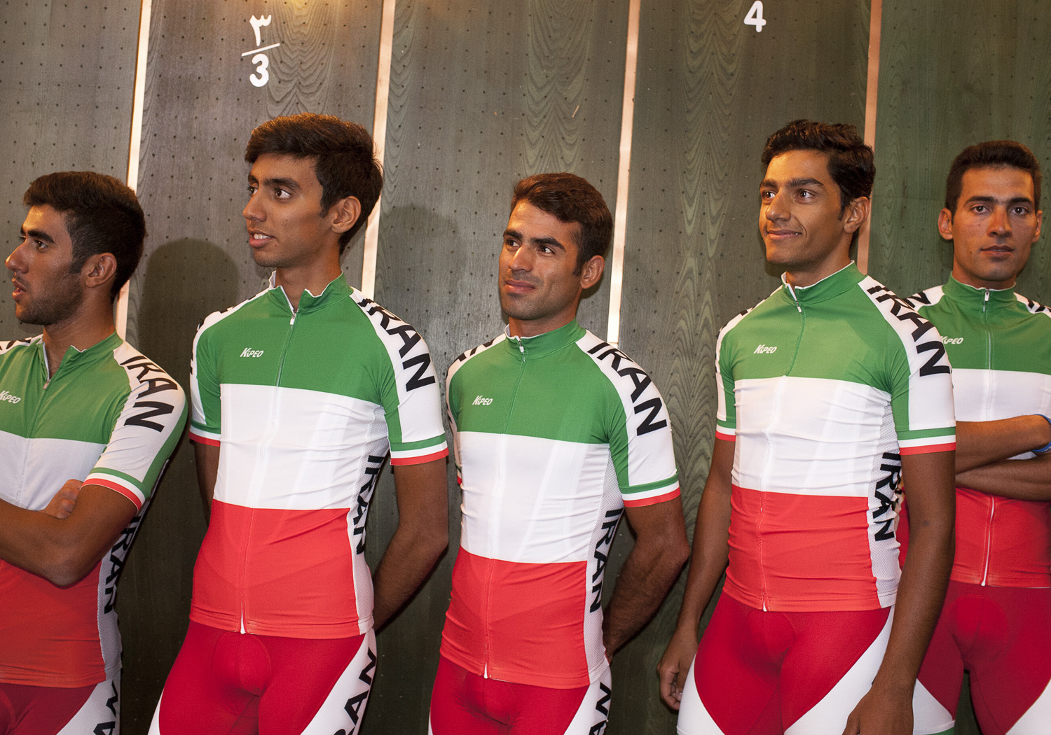Iranian national cycling team