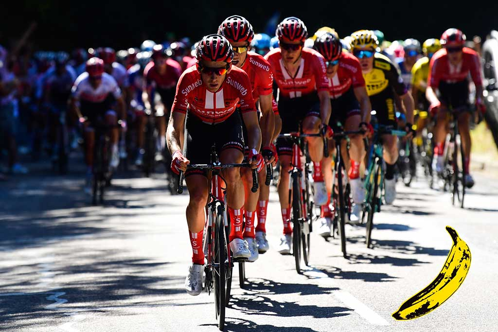 Top Banana: Tour de France stage 15 – Lennard Kämna