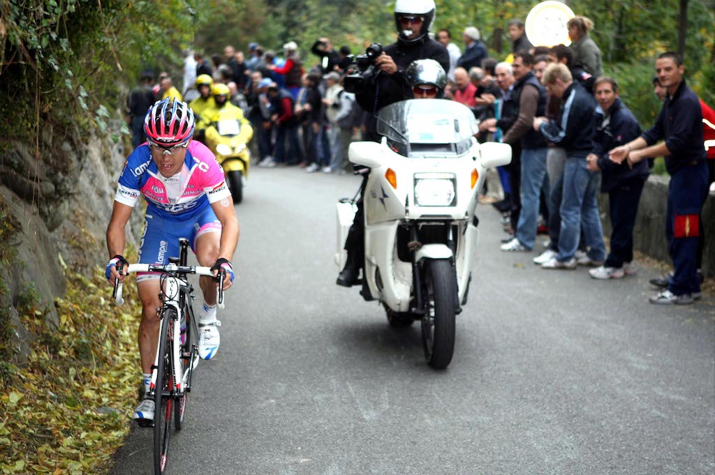 Damiano Cunego: For the love of falling leaves