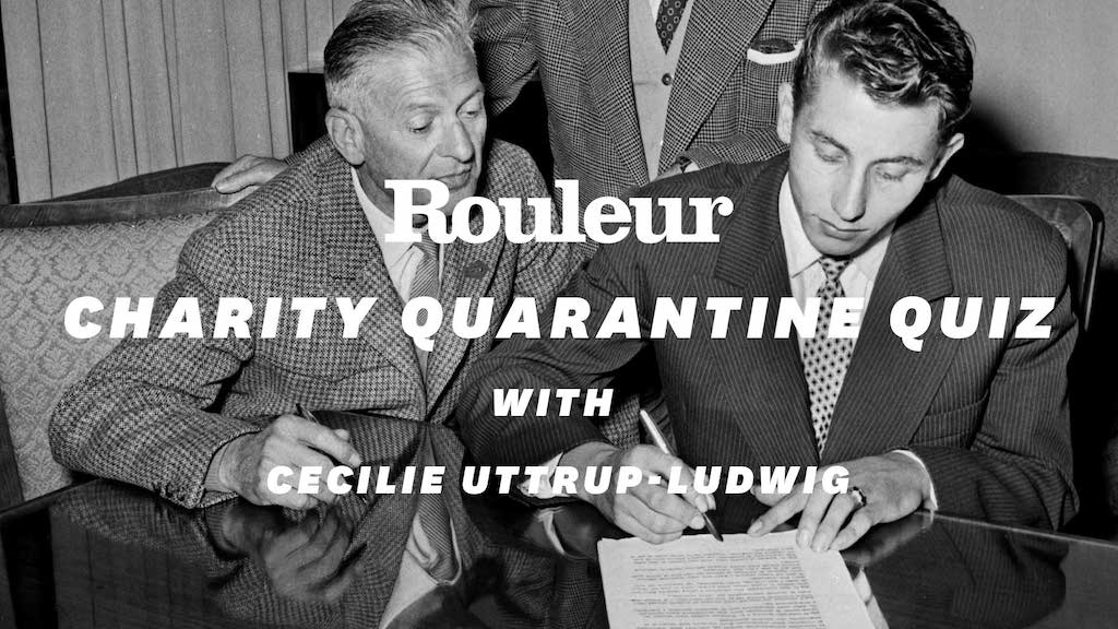 Rouleur Charity Quarantine Quiz: Cecilie Uttrup Ludwig and Ned Boulting