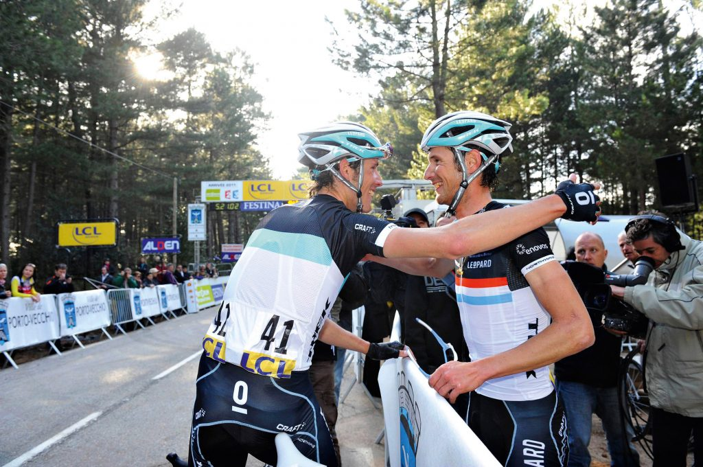 Andy and Frank Schleck