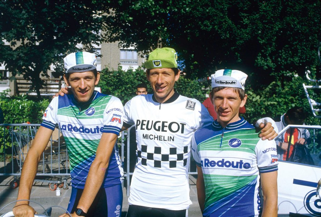 Regis, Pascal and Jerome Simon