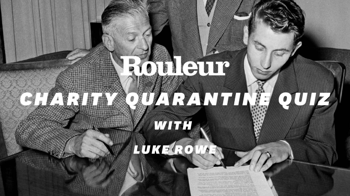 Rouleur Charity Quarantine Quiz: Luke Rowe and Ned Boulting