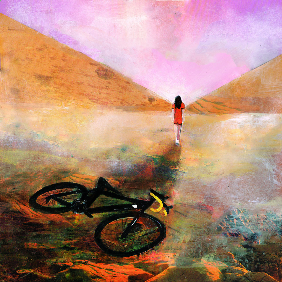 Drawn to cycling: Showcasing the work of illustrator Grace Russell
